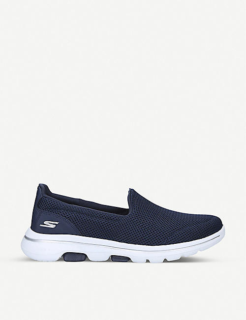 SKECHERS: Go Walk mesh and nylon trainers