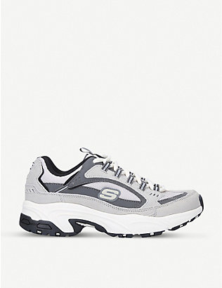 SKECHERS: Stamina Cross Road woven trainers