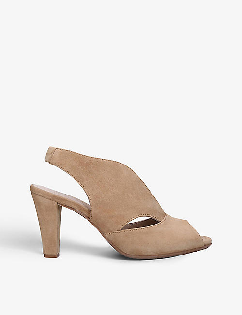 CARVELA COMFORT: Arabella cut-out suede sandals