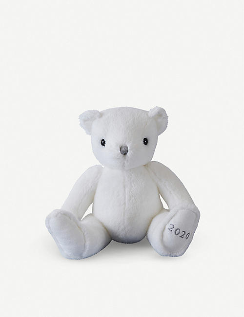 THE LITTLE WHITE COMPANY: 2020 bear soft toy and comforter
