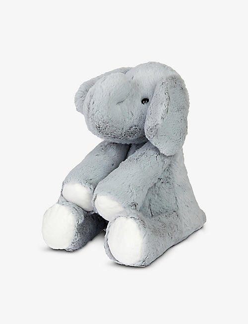 THE LITTLE WHITE COMPANY: Kimbo elephant soft toy 30cm