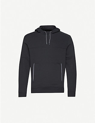 THE NORTH FACE: Logo-print stretch-jersey hoody