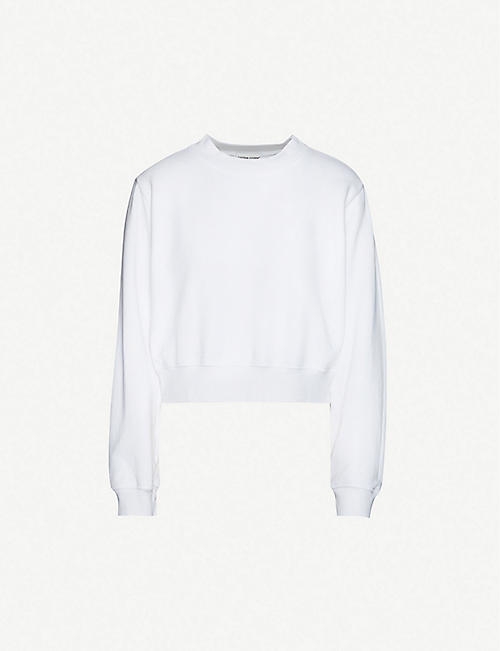 COTTON CITIZEN: Milan round-neck cotton-jersey sweatshirt