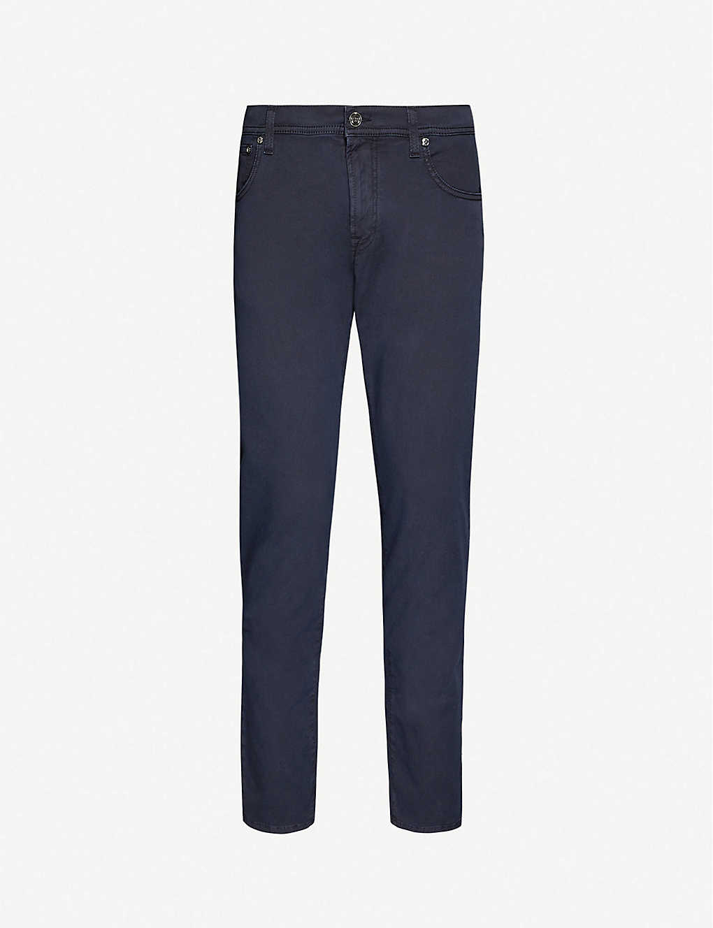 CORNELIANI: Tapered slim-fit jeans