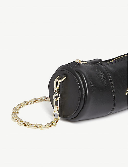MANU ATELIER Mini Cylinder leather bag
