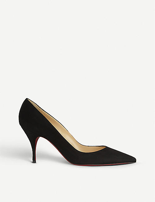 CHRISTIAN LOUBOUTIN CLARE 80 VEAU VELOURS