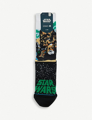 STANCE Chewbacca intarsia knitted socks