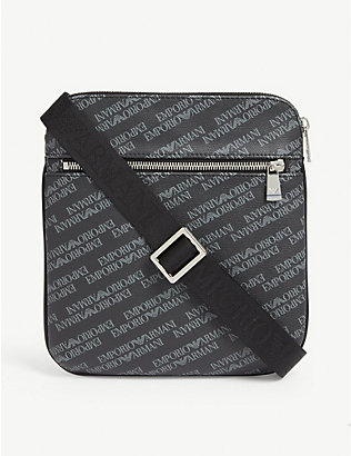EMPORIO ARMANI: Ea All Over Print Messenger
