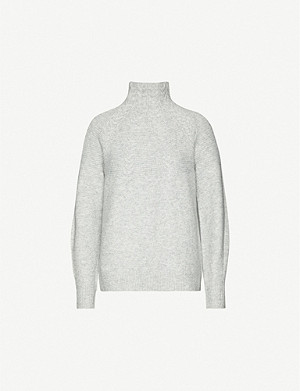 TOPSHOP Cable-knit stretch-knit jumper