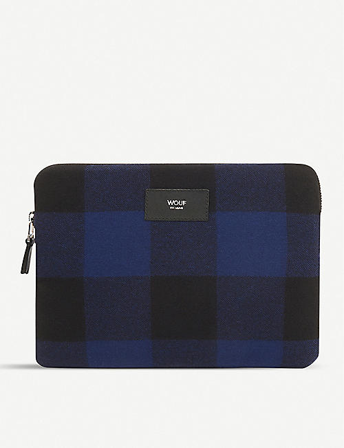 WOUF: Jack check-print iPad case