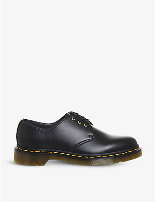 DR. MARTENS: 1461 3-eyelet vegan leather shoes