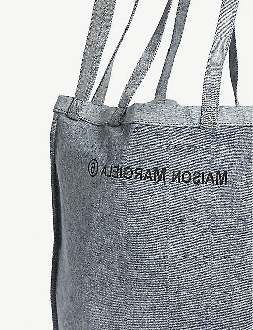 MM6 MAISON MARGIELA Oversized denim tote bag