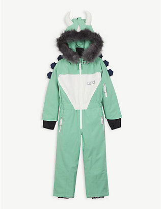 DINOSKI: Spike dinosaur ski suit 2-7 years