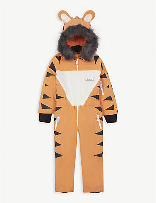 DINOSKI: Pounce tiger ski suit 2-7 years