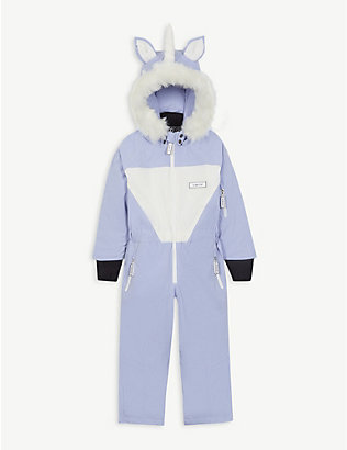 DINOSKI: Sparkle unicorn ski suit 2-7 years