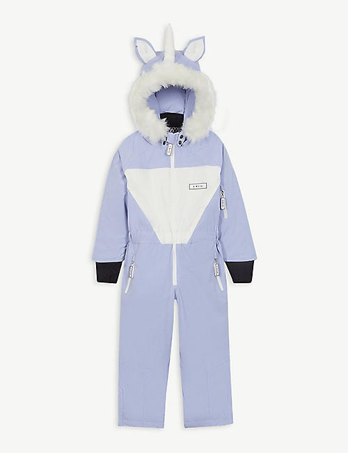 DINOSKI Sparkle unicorn ski suit 2-7 years