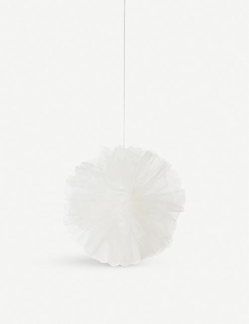 VALENTINES We Heart Pink tulle pom pom decorations set of three