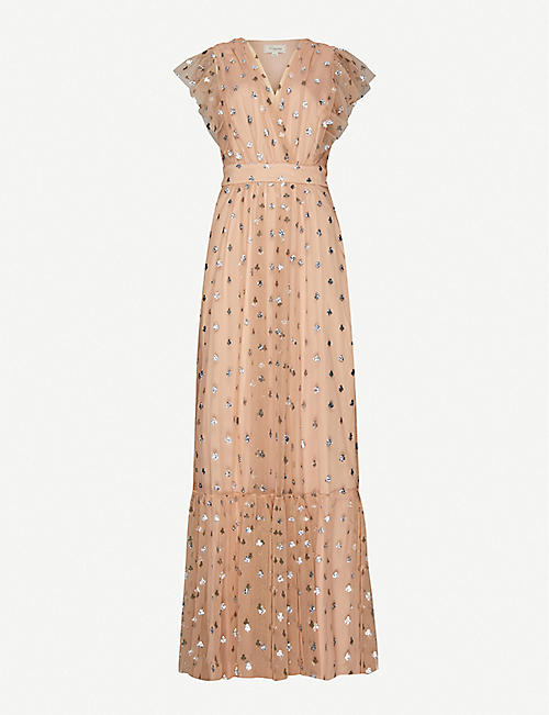 TEMPERLEY LONDON Fortuna ruffled tulle maxi dress