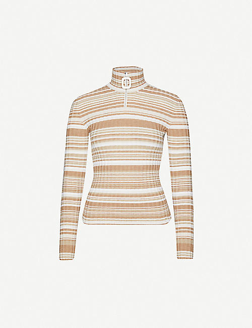 JW ANDERSON Striped wool jumper