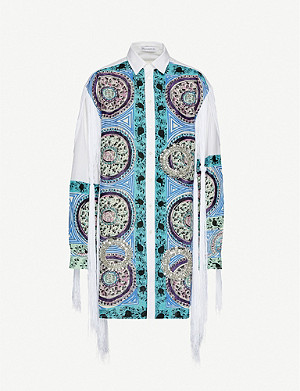 JW ANDERSON Paisley-print loose-fit cotton-blend shirt