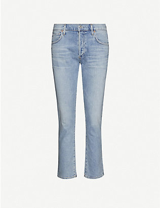 CITIZENS OF HUMANITY: Emerson slim-fit boyfriend mid-rise jeans
