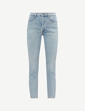 CITIZENS OF HUMANITY Olivia cropped high-rise jeans