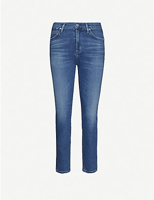 CITIZENS OF HUMANITY: Rocket slim-fit skinny high-rise jeans