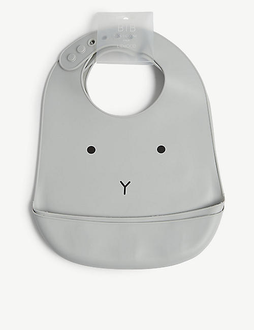 LIEWOOD: Tilda silicone rabbit bibs set of two