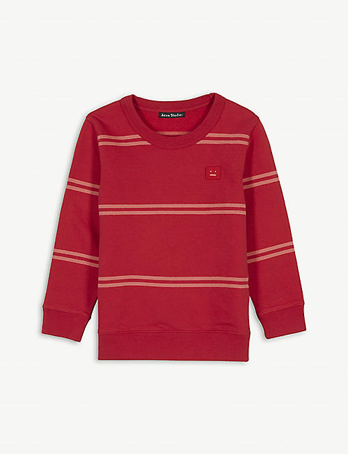 ACNE STUDIOS Mini Fairview stripe cotton jumper 3-10 years