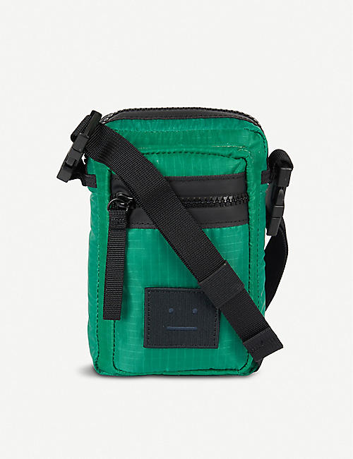 ACNE STUDIOS Arvel logo nylon cross-body bag