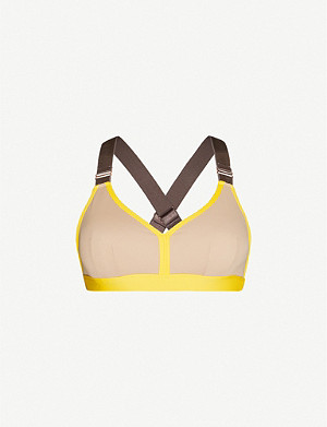 LURV My Ambitions stretch-jersey sports bra