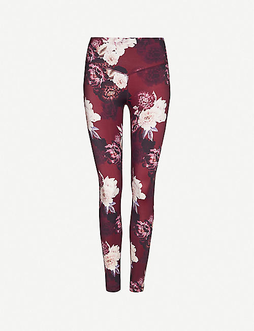 LURV Sweet Harmony floral-print stretch-jersey leggings