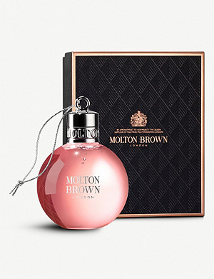 MOLTON BROWN Delicious Rhubarb & Rose Festive Bauble 75ml