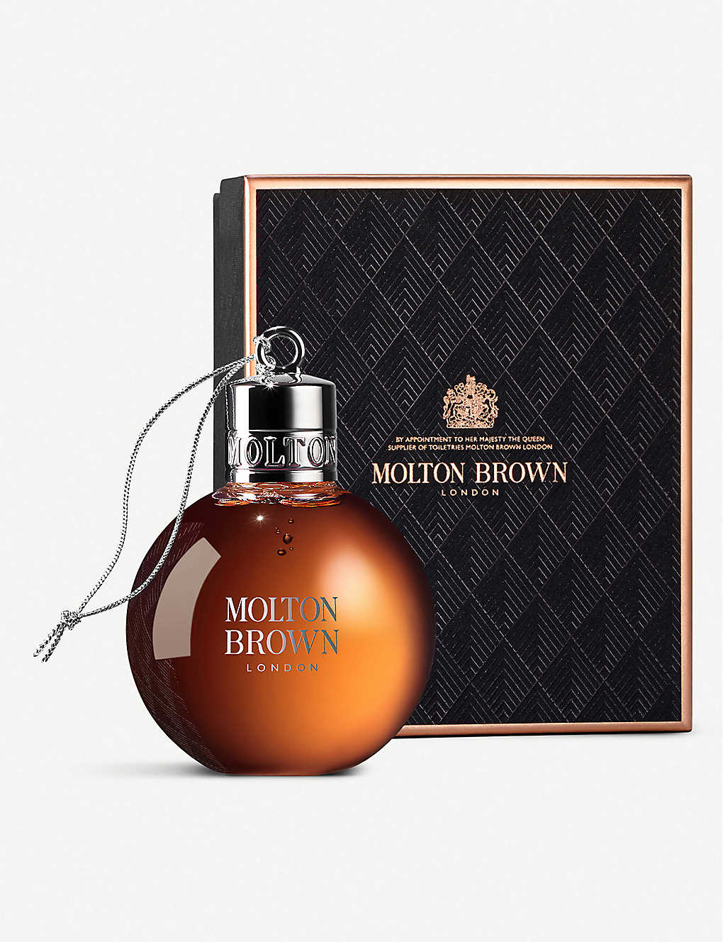 MOLTON BROWN: Re-charge Black Pepper Festive Bauble 75ml