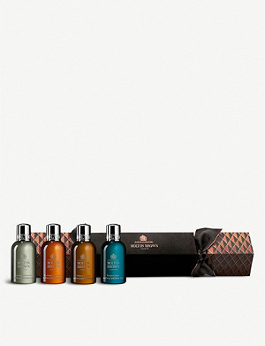 MOLTON BROWN Aromatic & Woody Christmas Cracker shower gel gift set