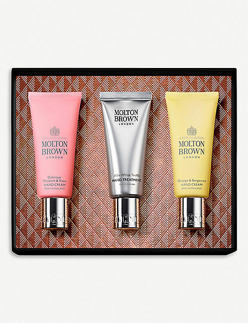 MOLTON BROWN Hand Care Gift Set of three