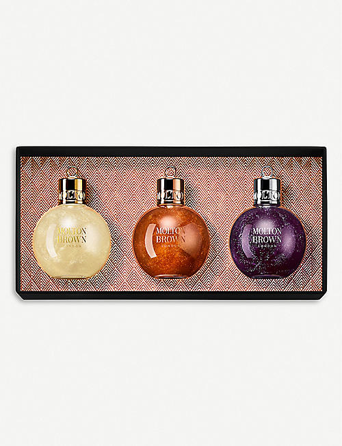 MOLTON BROWN Festive Bauble Gift Set of three