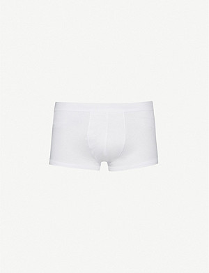 ZIMMERLI Pure Comfort classic-fit stretch-cotton trunks