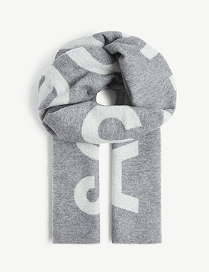 ACNE STUDIOS Toronty wool and nylon-blend scarf