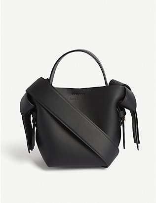 ACNE STUDIOS: Musubi leather shoulder bag