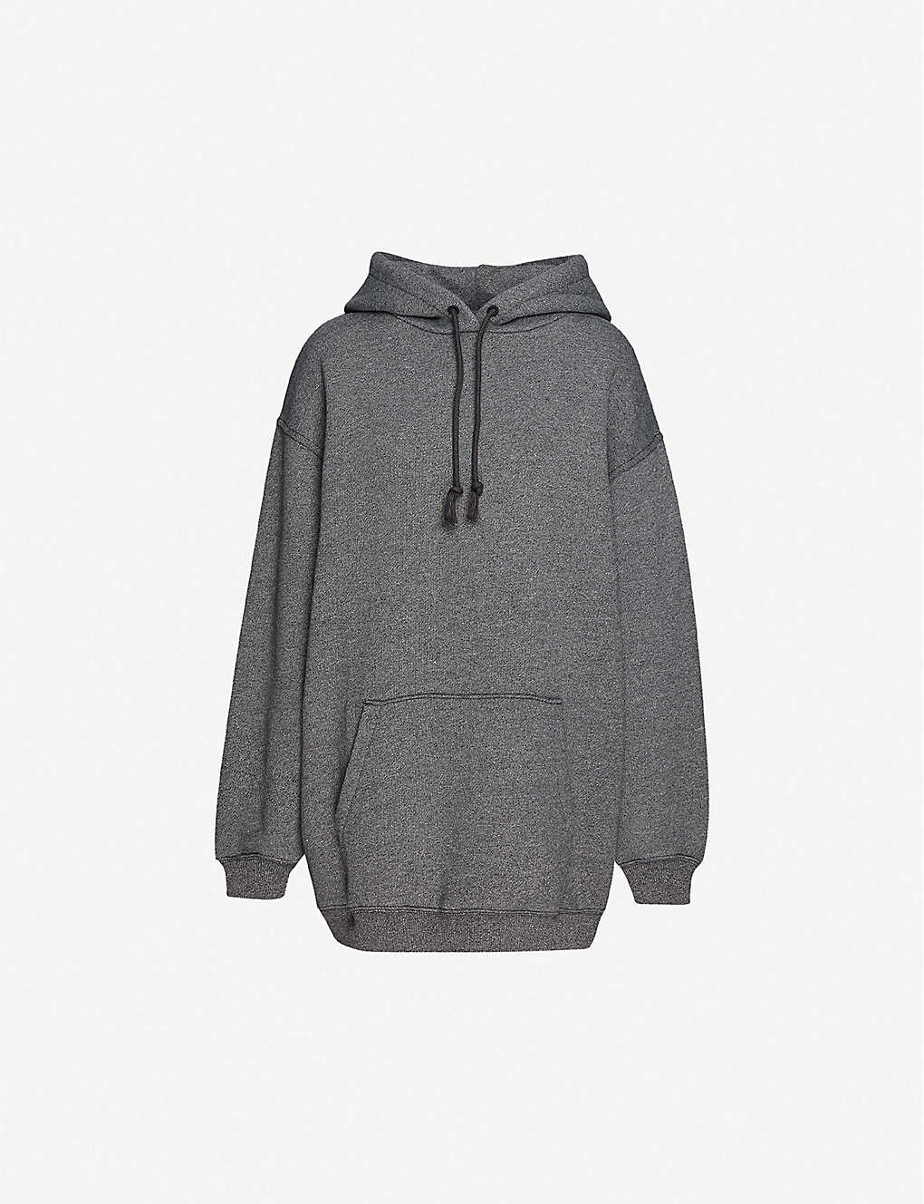 ACNE STUDIOS: Oversized cotton-blend jersey hoody