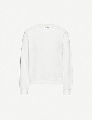 ACNE STUDIOS: Oversized organic cotton sweatshirt