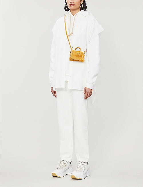ACNE STUDIOS Tapered cotton-jersey jogging bottoms