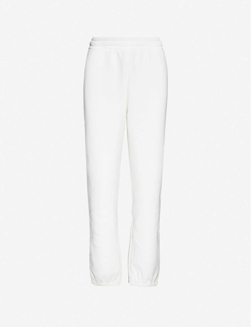 ACNE STUDIOS: Tapered cotton-jersey jogging bottoms