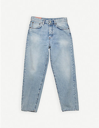 ACNE STUDIOS: 1991Toj straight-leg high-rise jeans