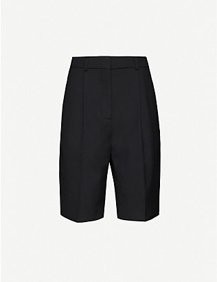 ACNE STUDIOS: Ruthie high-rise woven shorts