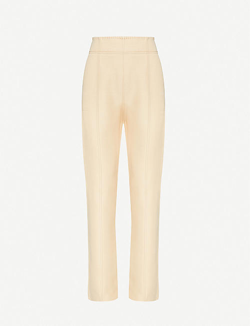 ACNE STUDIOS High-rise woven trousers