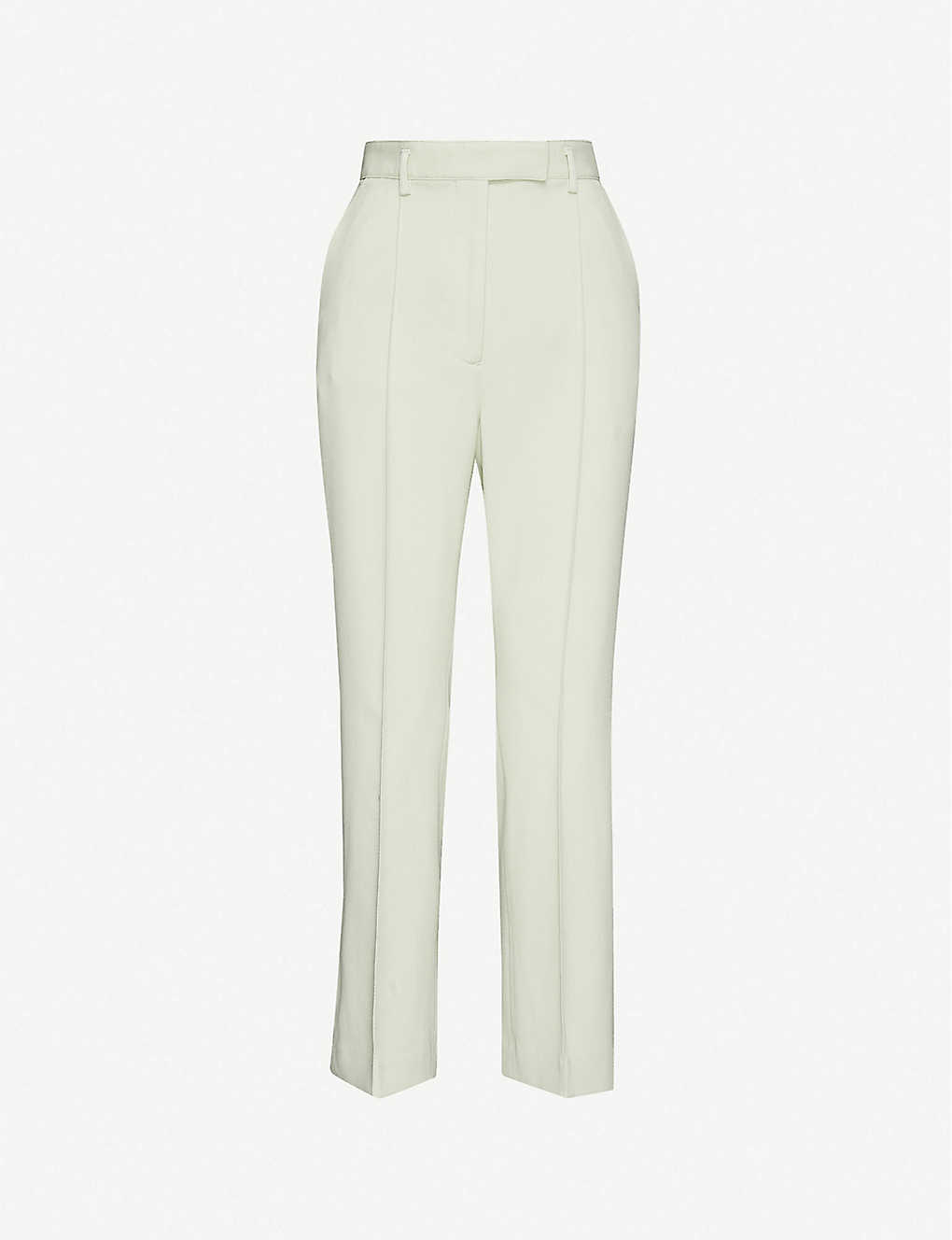 ACNE STUDIOS: Cropped mid-rise woven trousers