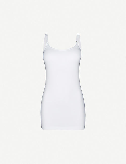 BRAVADO DESIGNS: Stretch-jersey nursing camisole