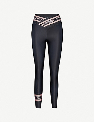 BEACH RIOT Paige stretch-jersey animal-print leggings